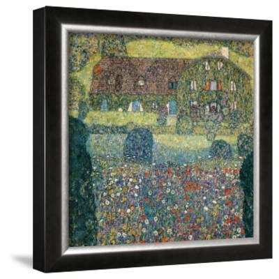 Villa on the Attersee by Gustav Klimt