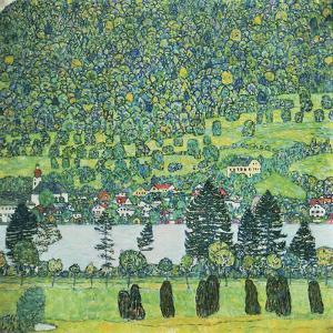 Waldabhang In Unterach Am Attersee by Gustav Klimt