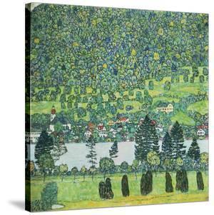 Waldabhang In Unterach Am Attersee by Gustav Klimt