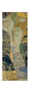 Wasserschlangen (Watersnakes). Oil on canvas (1904-1907). by Gustav Klimt