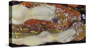 Water Serpents II, 1907 by Gustav Klimt