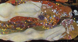 Water Serpents II, 1907 by Gustav Klimt