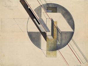 Construction, 1921 by Gustav Klutsis