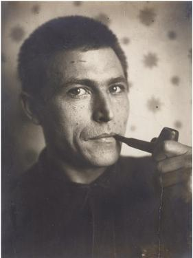 Self-Portrait by Gustav Klutsis