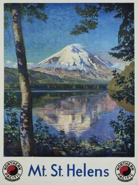 Mt. St. Helens Poster by Gustav Krollmann