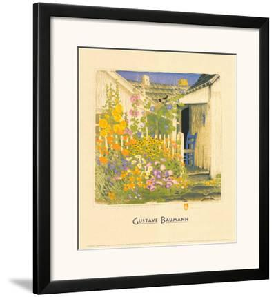 Grandma Battin's Garden by Gustave Baumann