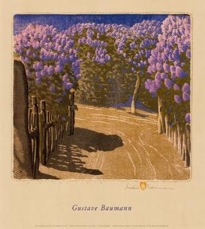 Lilac Year by Gustave Baumann