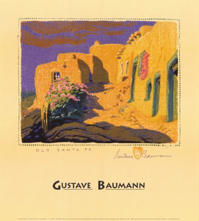 Old Santa Fe by Gustave Baumann