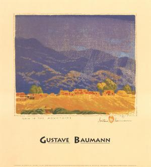 Rain in the Mountains by Gustave Baumann