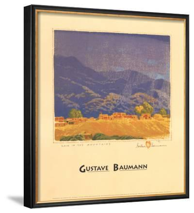 Rain in the Mountains by Gustave Baumann