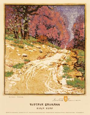 Ridge Road by Gustave Baumann