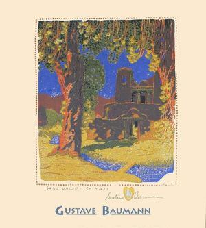 Santuario Chimayo by Gustave Baumann