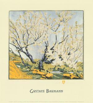 Silver Sky by Gustave Baumann