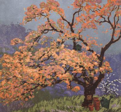 Spring Blossoms by Gustave Baumann