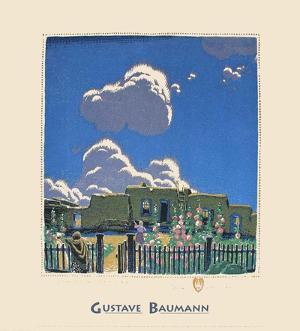 Summer Clouds by Gustave Baumann