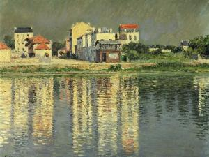 Banks of the Seine at Argenteuil by Gustave Caillebotte