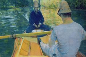Boaters on the Yerres by Gustave Caillebotte