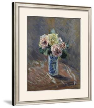 Bouquet de fleurs by Gustave Caillebotte