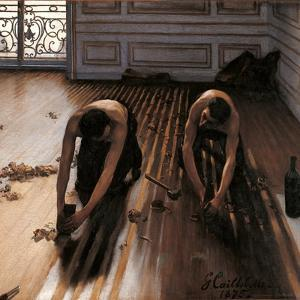 Floor Planers by Gustave Caillebotte