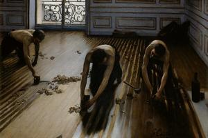 Floor Scrapers by Gustave Caillebotte