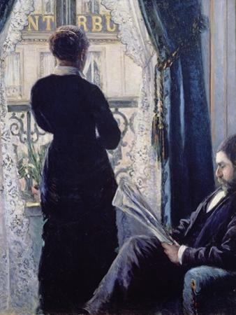 Interior, Woman at the Window, 1880 by Gustave Caillebotte