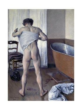 Man at His Bath by Gustave Caillebotte