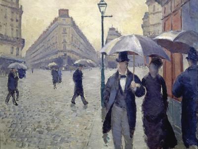 Paris, Rainy Day