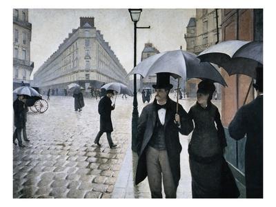 Paris Street; Rainy Day, 1877
