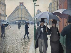 Paris Street, Rainy Day, 1877 by Gustave Caillebotte