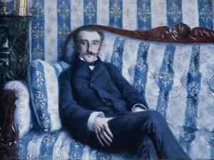 Portrait of Monsieur R., 1877 by Gustave Caillebotte