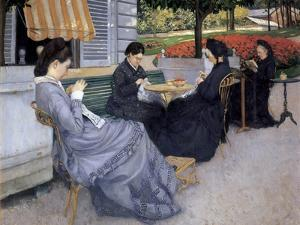 Portraits in the Country by Gustave Caillebotte