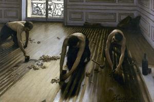 Raboteurs de parquets by Gustave Caillebotte