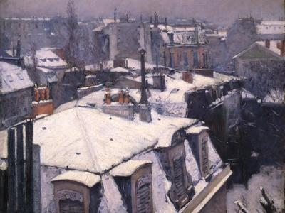 Snow on Roofs, 1878
