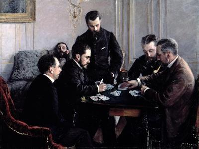 The Bezique Game, 1881