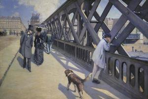 The Europe Bridge, 1876 by Gustave Caillebotte