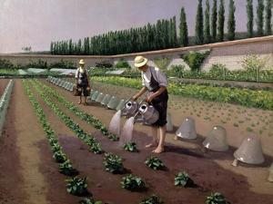 The Gardeners by Gustave Caillebotte