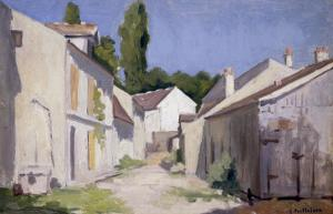 Un Chemin a Yerres, c.1879 by Gustave Caillebotte