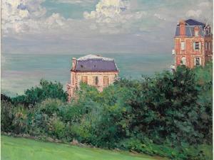 Villas at Villers-Sur-Mer by Gustave Caillebotte