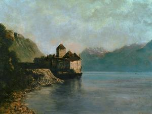 Chillon Castle, 1874 by Gustave Courbet