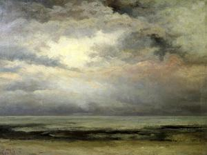 L'Immensite by Gustave Courbet