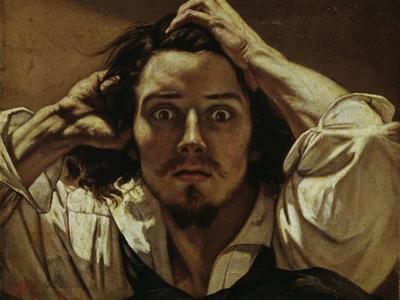 Le Désespéré (Self portrait, The Des- paring Man), 1841 by Gustave Courbet