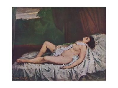 'Nu couché', mid 19th century, (1937) by Gustave Courbet