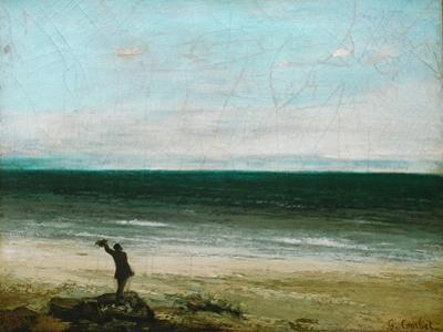Palavas. by Gustave Courbet
