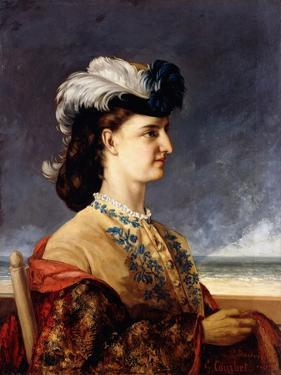 Portrait of Countess Karoly, 1865 by Gustave Courbet