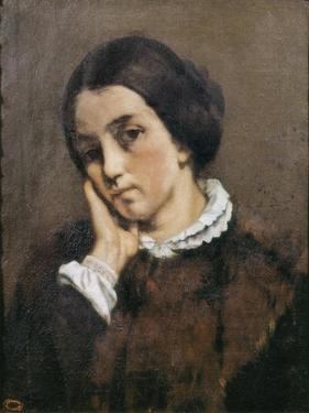 Portrait of Zelie Courbet 1846 by Gustave Courbet