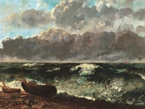 Stormy Sea, (The Wave) by Gustave Courbet