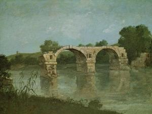 The Bridge at Ambrussum by Gustave Courbet