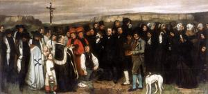 The Funeral at Ornans, 1850 by Gustave Courbet