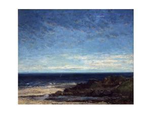 The Sea, 1867 by Gustave Courbet