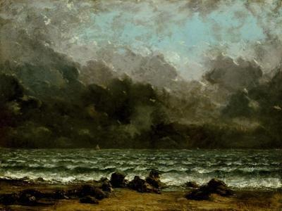 The Sea, c.1865 by Gustave Courbet